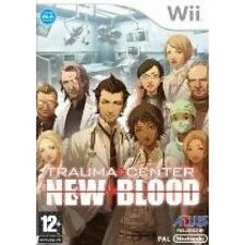 Trauma Centre: New Blood (Wii)  BRAND NEW AND SEALED - QUICK DISPATCH
