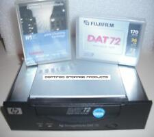 HP Q1522A DDS-5 INT DAT72 Data Tape Drive Backup Unit & Tapes 333747-001 C7438A