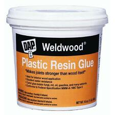 4.5lb Plastic Resin Glue DAP 204 makes joints stronger than wood itself  4 PK