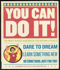 You Can Do It! Merit Badge Handbook For Grown-Up Girls Guide Book Grandcolas