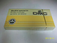 VTG DMC 25 EMBROIDERY FLOSS SEALED BOX MOULINE SPECIAL gold 780 box of 24 NEW