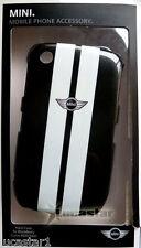 Blackberry 8520 Funda MINI Cooper Negra+Protector Pantalla
