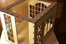 Roombox Diorama Dollhouse for doll 1:6 12 in Barbie FR Momoko Furniture OOAK V25