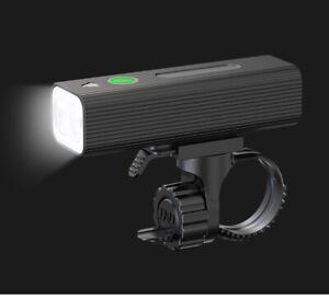 Professional Bike Light USB Rechargeable 5 Modes Black Aluminium LED T6 Beam
