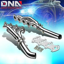 STAINLESS STEEL HEADER FOR 04-10 FORD F150 5.4L V8 EXHAUST/MANIFOLD+MID PIPE