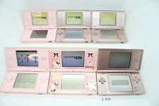 Plz Read Note! Lot of 6 Original Nintendo DS Lite Console System Pink #3313