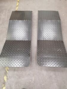 OMA 526 Stepped Run On Ramp 1400mm - set of 2