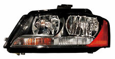 2009 - 2013 AUDI A3 HEADLIGHT HEADLAMP LIGHT LAMP HALOGEN LEFT DRIVER SIDE