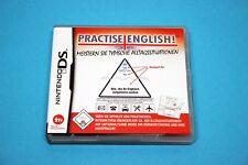 Nintendo DS juego-practise English-completamente en funda OVP