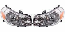 SUZUKI SX-4 SX4 2007-2014 LEFT RIGHT HEAD LIGHTS FRONT HEADLIGHTS LAMPS PAIR