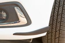 2x Auto Stoßstangenschutz Leiste Stoßstange Schutzleisten Carbon Look Universal