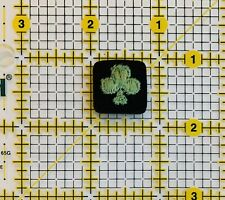 Clover Iron On Patch Cards Clover Suit Green Games Poker