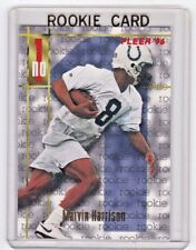 1996 Fleer #159 Marvin Harrison RC Indianapolis Colts ROOKIE CARD