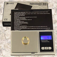 NEW 600g Gold Silver Jewelry Coin Pocket Digital Scale Grams 0.1g .1 g Gram 100