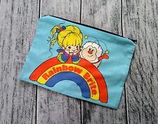 Rainbow Brite & Sprite Poly Mesh Zipper Pouch Cosmetic Makeup Bag