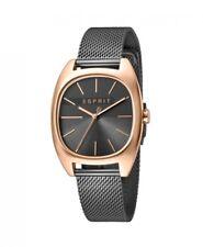 Esprit Damenuhr Uhr Infinity Edelstahl Milanaise Rosé Grau ES1L038M0125