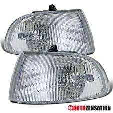 Fit 92-95 Honda Civic 3dr hatch Chrome Corner Turn Signal Lights