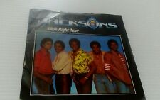 "The Jacksons - Walk Right Now - 7"" Vinyl Record"