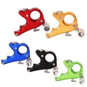 1x Archery Release Aid Caliper Trigger Grip Gear For Compound Bow Aluminum Alloy