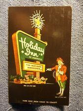 Vintage Postcard Holiday Inn, Burlington, Iowa