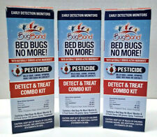 3X Bugband Bed Bugs No More! Natural Pesticide Spray Detect/Treat Combo Kit 2oz