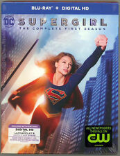 SUPERGIRL: THE COMPLETE FIRST SEASON 3-Disc Blu-Ray Set DC Melissa Benoist Kara