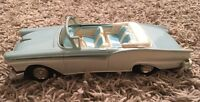 1957 AMT Promo Blue/White Car Ford Fairlane 500 Convertible
