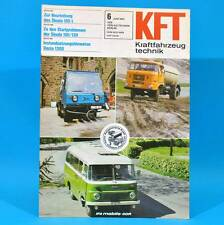 DDR KfT Kraftfahrzeugtechnik 6/1982 Volkspolizei Sevel Skoda 105 Volvo Ford N