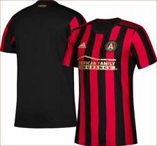 new NIKE Climacool men shirt jersey Atlanta United FC soccer red black 3XL $90