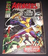 AVENGERS #34 VF- (7.5) 12¢ cover Marvel Comic | The Living Laser!