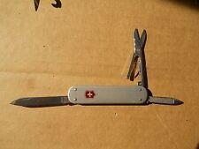 Victorinox Money Clip 74mm Swiss Army knife in silver Alox