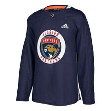 Florida Panthers NHL Adidas Men's Navy Blue Authentic Practice Team Jersey