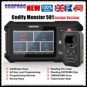 OBDPROG Key Master Car Remote Key Fob Programming Immobilizer Read Pin Code