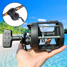 Trolling Fishing Reel Black Saltwater Right Hand Sea Bait Casting Fishing Reels