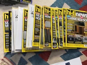 HI-FI NEWS & Record Review ~21 magazines available. MINT - many still packed.