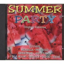 Summer Party - DJ PAUL MOLELLA PREZIOSO DATURA SWEETBOX CD NEAR MINT CONDITION