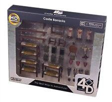 Wizkids D&D Minis: 4d Setting Castle Barracks Terrains Pack, New