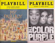10 Broadway musical revivals Playbills Cabaret Pippin Purple Fair Lady NE.. Goes