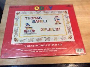New Noddy Cross stitch kit