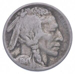 1914-S Indian Head Buffalo Nickel *493