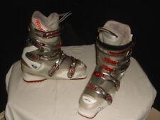 Rossignol Xena X8 Transparent Grey Red Womens Snow Ski Boots Size 26.5 /9-9.5 US