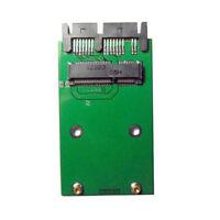 """3.3v mSATA SSD to 1.8"""" Micro SATA 7+9 16pin Adapter PCBA for SSD Hard Disk drive"""