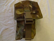 British Army Osprey MK4 / 4A WATER BOTTLE POUCH - MTP - USED - GRADE 2 -Genuine