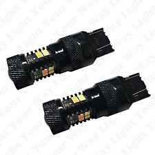Bright Switchback Front DRL Parking Signal LED + Resistors for 2014-2016 4Runner