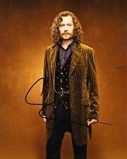 Gary Oldman SIGNED 10X8 Photo Sirius Black HARRY POTTER AFTAL COA (5386)