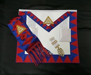 Chapter Royal Arch Apron, Sash And Breast Jewel