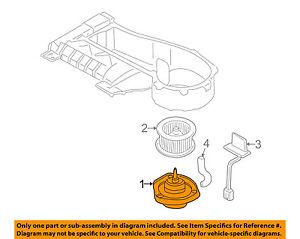 GM OEM-Blower Motor 22792042