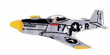 P-51 Mustang WWII airplane medium size iron on patch