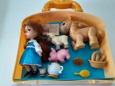 Disney Animators Colección, Belle, Beauty y the Beast, Usado, Excelente