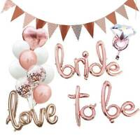 Bride To Be Hens Party Bridal Shower Engagement Balloons Banner Wedding Decor